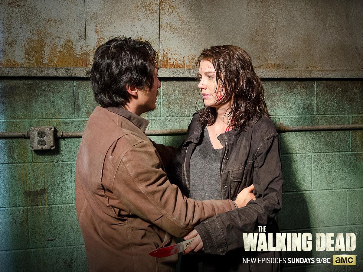 Glenn And Maggie The Walking Dead Wallpaper 39713340 Fanpop