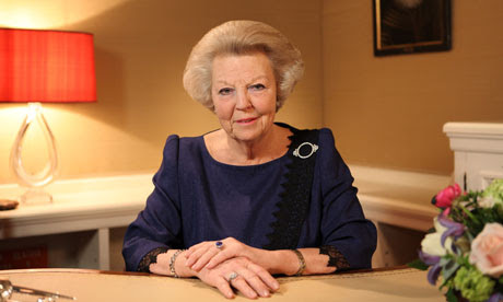 Queen Beatrix Of The Netherlands Announces Her Abdication