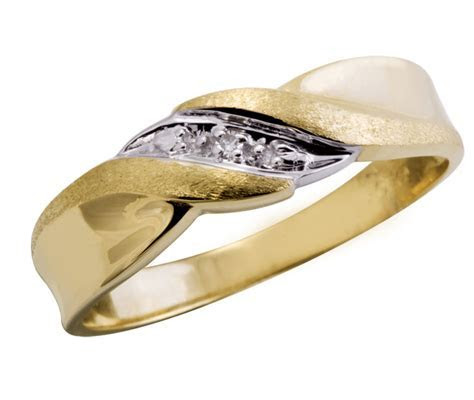 "10K Yellow Gold ""Ceremony"" Gents Diamond Wedding Band"