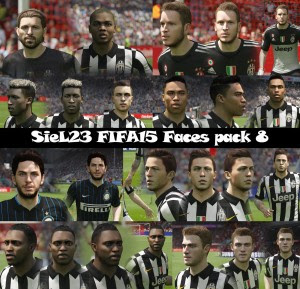 Download FIFA 15 Faces Pack 8 by SieL23