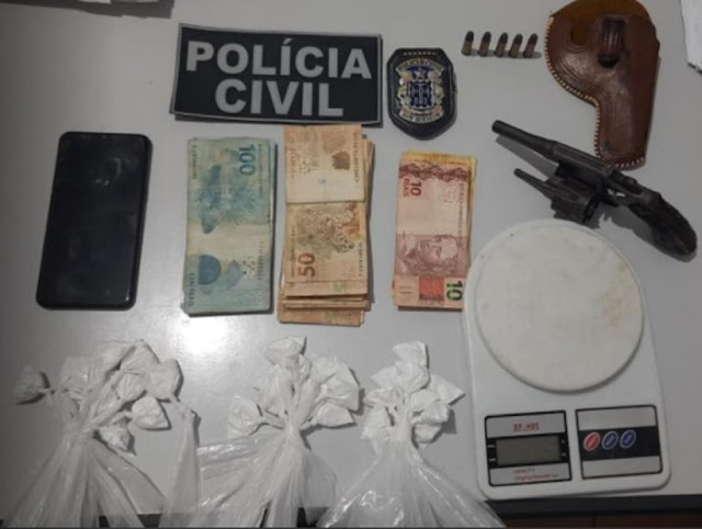 Homem é preso na BA-052, entre as cidades de Irecê e São Gabriel