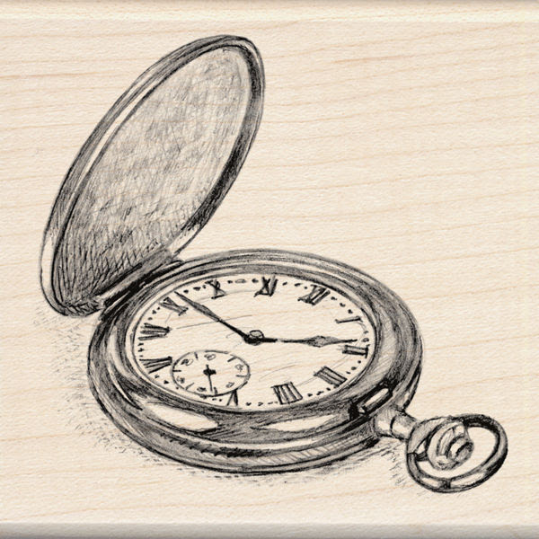Pocket Watch Drawing At Getdrawingscom Free For Personal Use