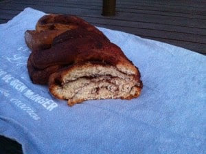 Cinnamon Chocolate Braid