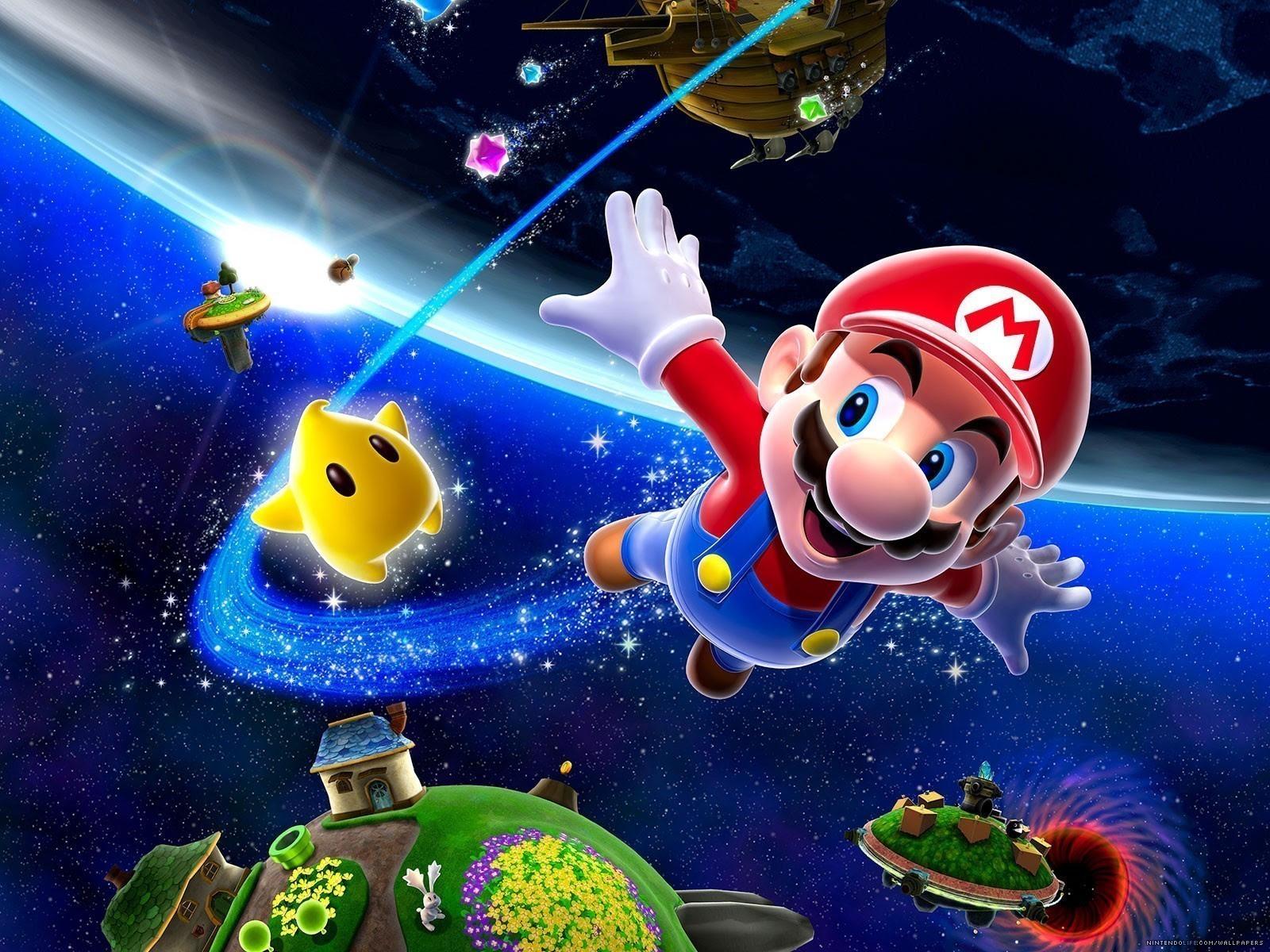 Super Mario Galaxy Mario And Luigi Wallpaper 9350452 Fanpop