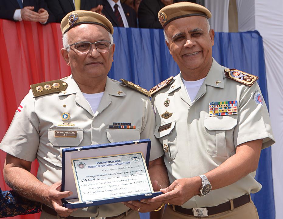 Cerimônia marca despedida de Adelmário Xavier do Comando Regional Leste