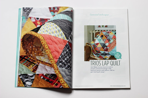 Love, Patchwork & Quilting - Issue 1 by Jeni Baker