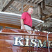 The yacht Kismet, built by Vinyard Shipyards, restored by Sudler Lofland, Milford, DE
