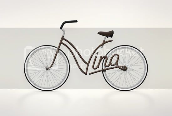 """Picture of vintage graphic bike"""" title="""