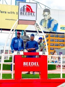 PHOTOS: BEEDEL Constructions Reconstructs, Beautifies Adeoyo-Ringroad Roundabout