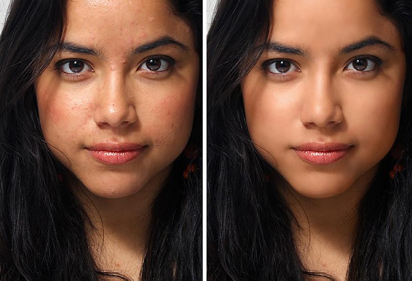 Akvis Makeup Porträtverbesserung Für Jung Erscheinende Gesichtshaut