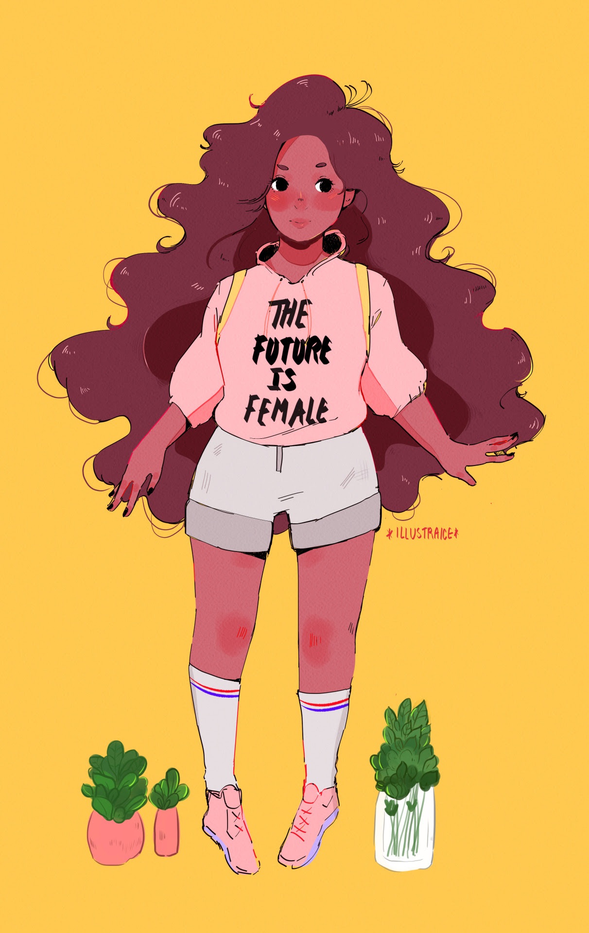 """Stevonnie was marching alongside everyone and wearing this nothing can convince me otherwise. """