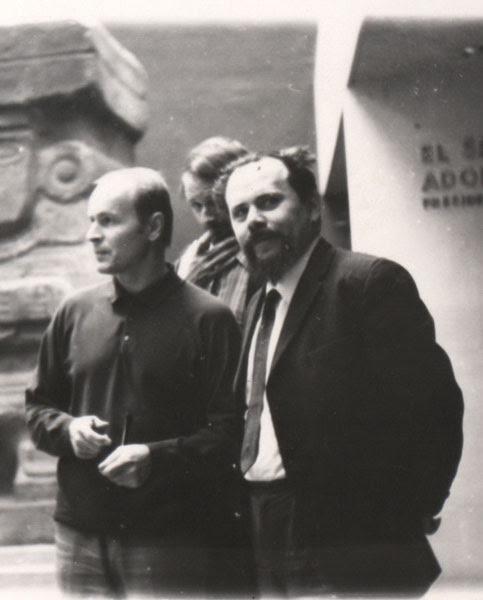 Zygmunt Molik i Ludwik Flaszen, fot. archiwum prywatne Ewy Oleszko-Molik