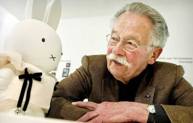IMG DICK BRUNA, Creator of Cartoon Rabbit Miffy