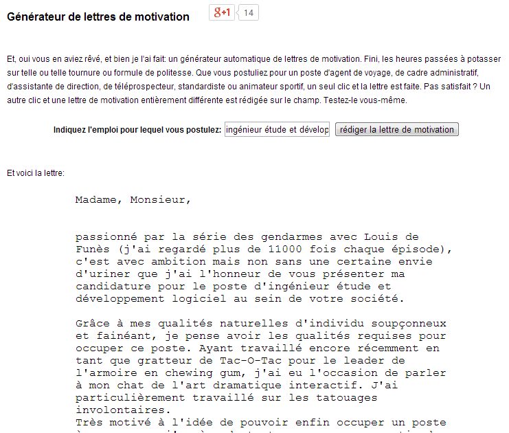 sample cover letter  exemple de lettre de motivation quand