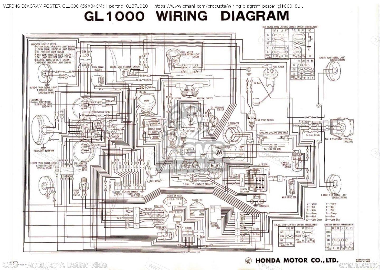 Honda Gl1500 Wiring Diagram - Wiring Diagram