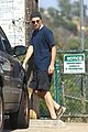 robert pattinson gets in some exercise at the dog park 01