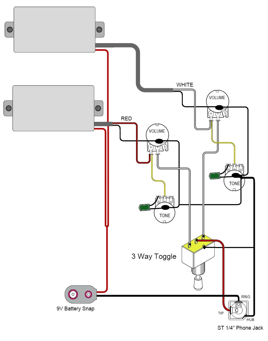 technology green energy  active pickup wiring