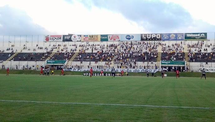 ABC x Globo FC, no Estádio Frasqueirão (Foto: Ricardo Silva)