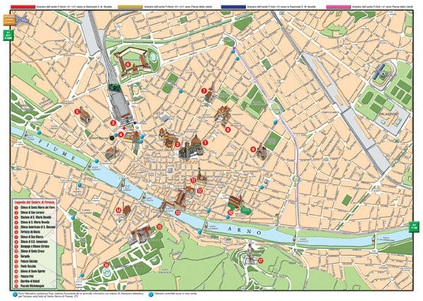 Large Florence Maps For Free Download And Print High