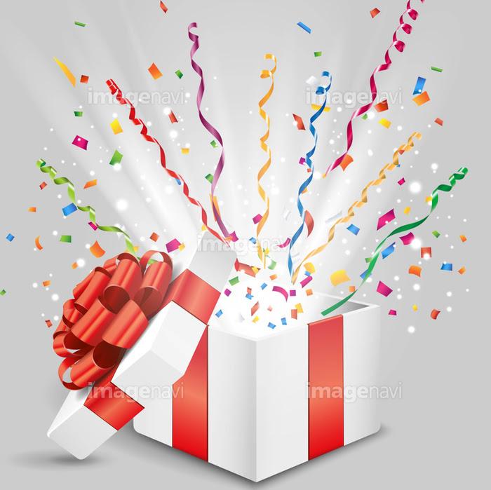サプライズなプレゼント箱の画像素材41101316 イラスト素材なら