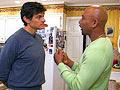 Dr. Oz spends a day with Montel Williams.