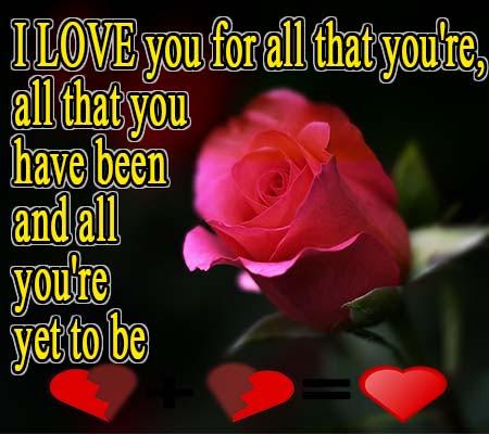 Imagenes De Rosas Con Frases De Amor En Ingles Rosas De Amor