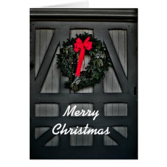 Christmas Wreaths Greeting Card
