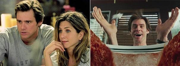 Jennifer Aniston é a bela namorada de Nolan que sofre com as reclamações do jornalista (Foto: Divulgação / Reprodução)