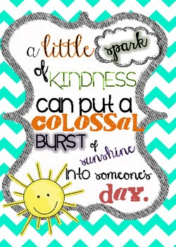 Spark of Kindness- Motivational/Inspirational Quote