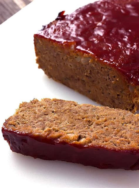 classic meatloaf  wholesome dish