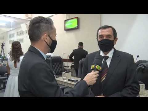 PREFEITO E VEREADORES TOMAM POSSE EM FEIRA