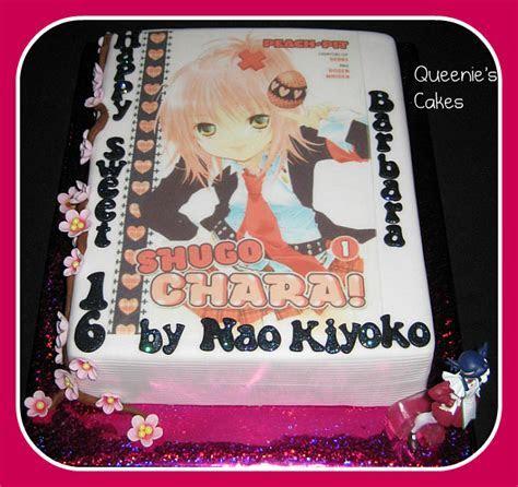 Manga/Japanese cake   Queenie's Cakes
