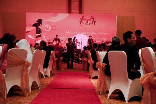 Tan Sri Muhyiddin Charity Golf :: Majlis Makan Malam Perdana