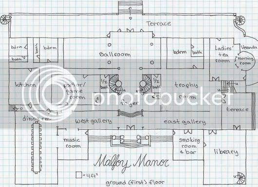 Risultati immagini per malfoy manor