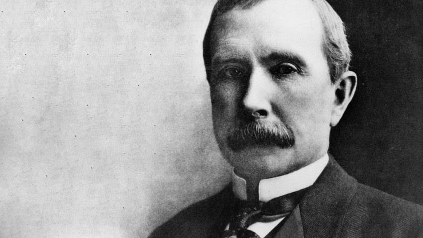 john d rockefeller net worth in today's money