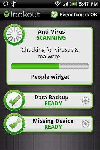 LookOut antivirus 1 ¡Alerta, nuevo Virus (Troyano) en Android!