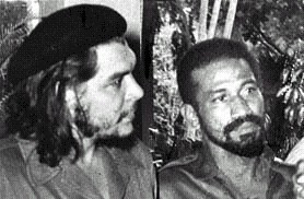 Che Guevara and Juan Almeida, leaders of the Cuban revolution. Guevara died in Bolivia in 1967 and Almeida passed on during September 2009. by Pan-African News Wire File Photos