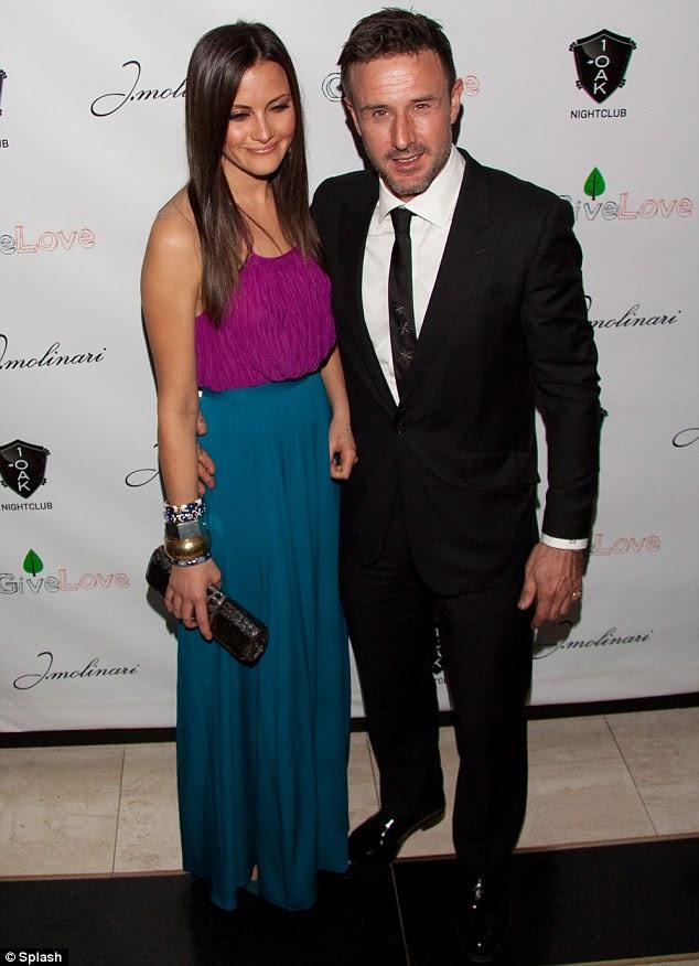 Casal apaixonado: David Arquette apoiado caridade de sua irmã, transformando-se com a namorada Christina McLarty