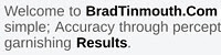 BradTinmouth