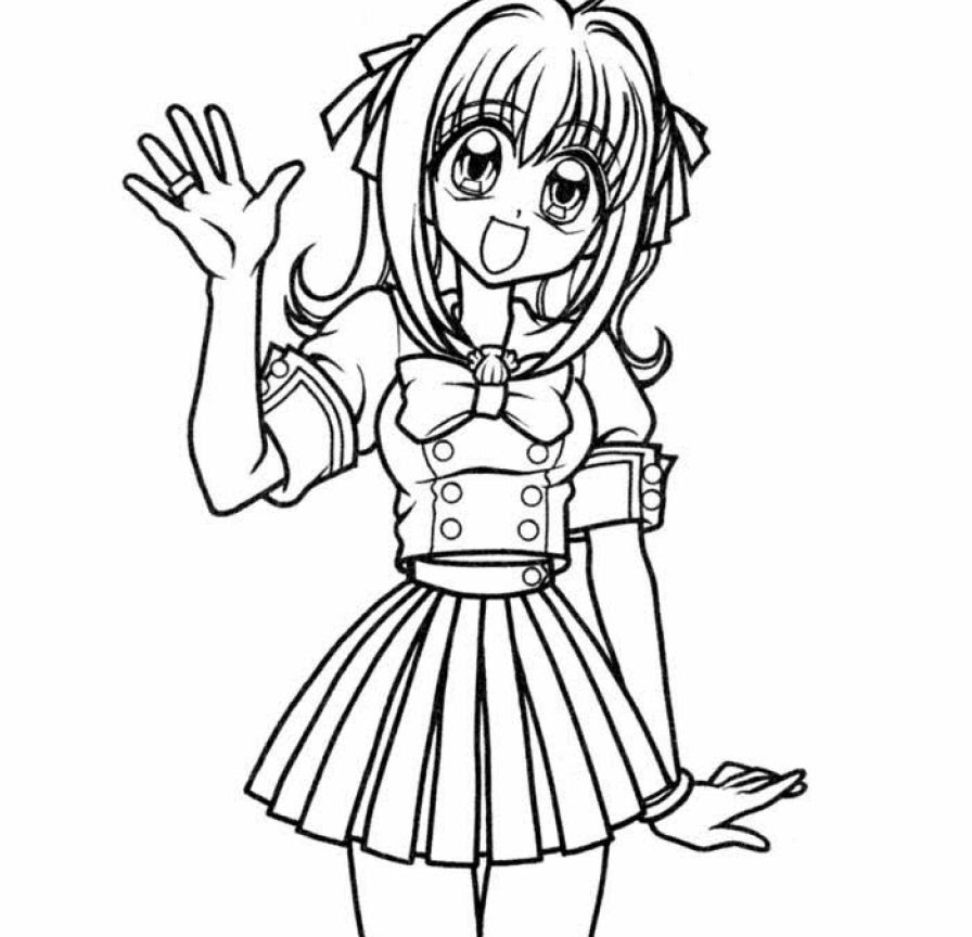 Little Mermaid Melody Coloring Pages at GetDrawings | Free ...