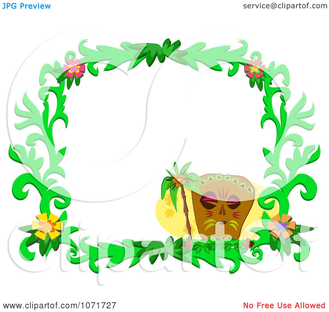Inspirational Hawaiian Christmas Clip Art