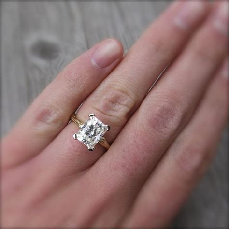 1000  ideas about Moissanite on Pinterest   Engagement