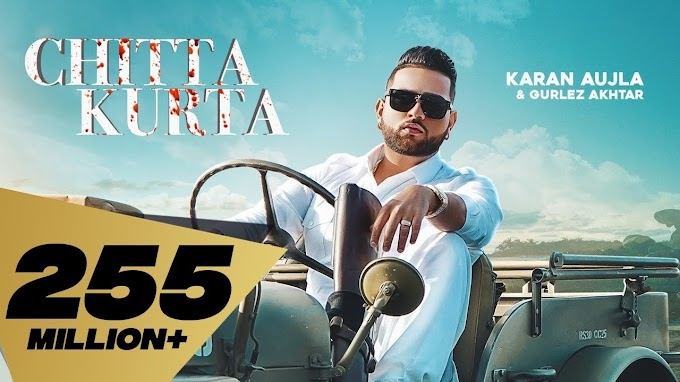 Chitta Kurta Karan Aujla New Gana Song Lyrics