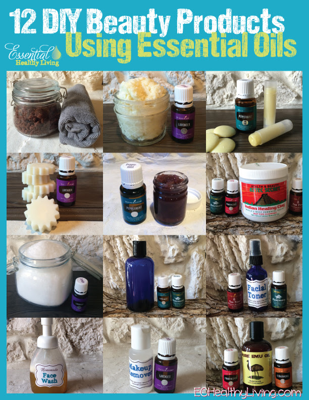 12 Days of Christmas - DIY Beauty using essential oils made with Young Living essential oils