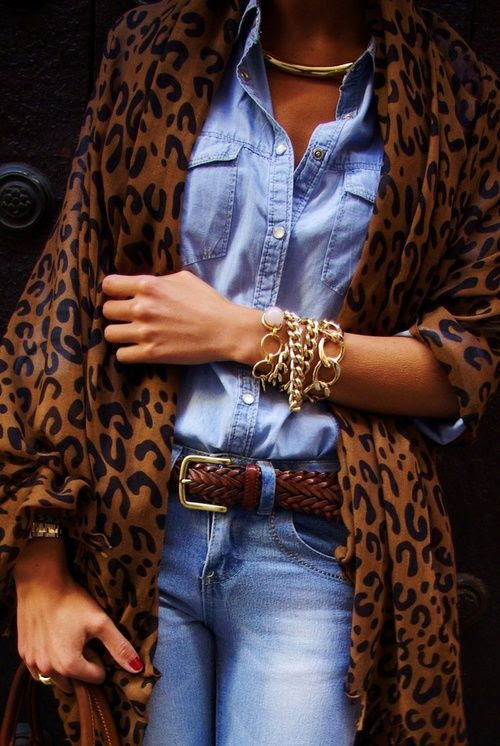 Leopard & Denim...fall perfection