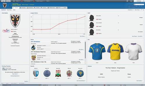 Adaptive Layout - Club Screen High ENG