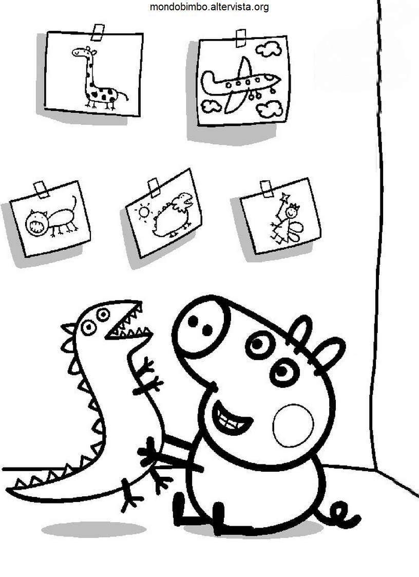 Coloriage peppa pig gratuit dessin a imprimer 238