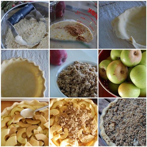 Making a pie