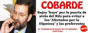 Rajoy-cobarde