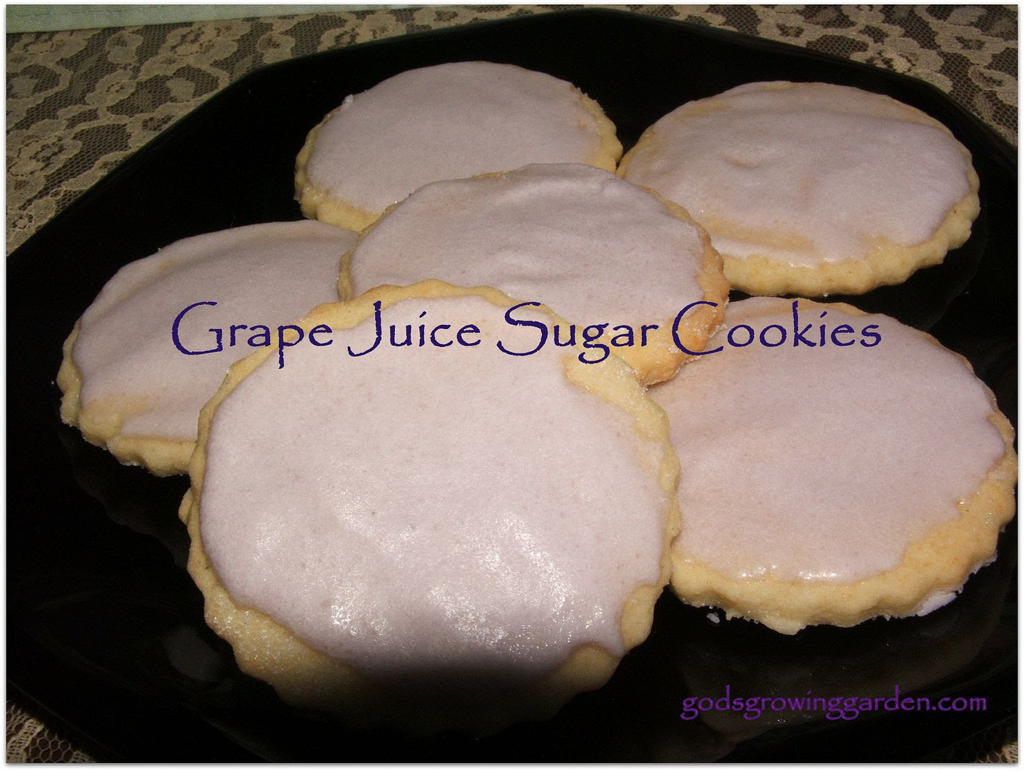 Grape Cookies by Angie Ouellette-Tower for godsgrowinggarden.com photo 010_zps51743618.jpg